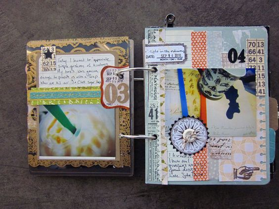 #art #journal #smashbook Coffee Girl Crafts: A blog about pretty things: LSNED Book: (learn something new every day)