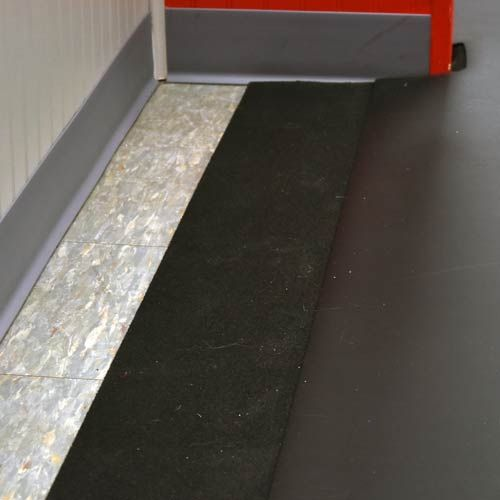 Plyometric Rubber Roll 1 2 Inch Black Plyometrics Flooring Tile Floor