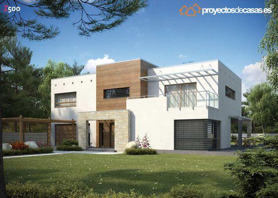 Ficha y planos de casa ayosa estilo contempor neo for Estilo contemporaneo casas