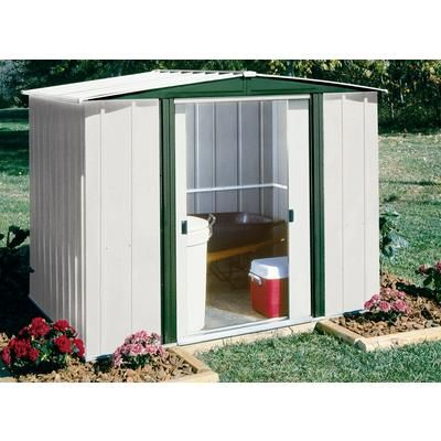 Hamlet Steel Storage Building   8 Feet X 6 Feet   HM86   Home Depot Canada  $299 | Bachelor Pad | Pinterest | Storage Buildings, Storage And Steel