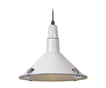 Lámpara de techo de aluminio Tonga - blanco