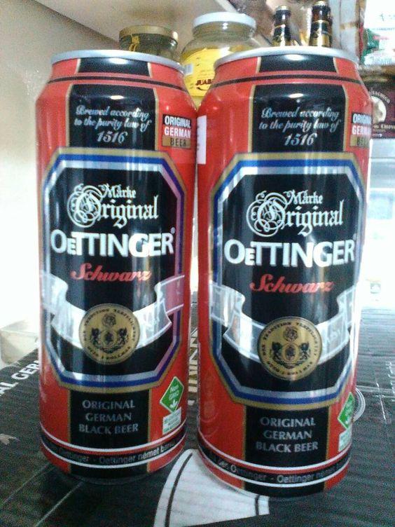 bia đức oettinger đen