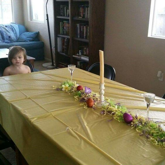 Easyer table by Kristen... #life #love #home #family #Kristen #holiday #Easter #SistaCousins
