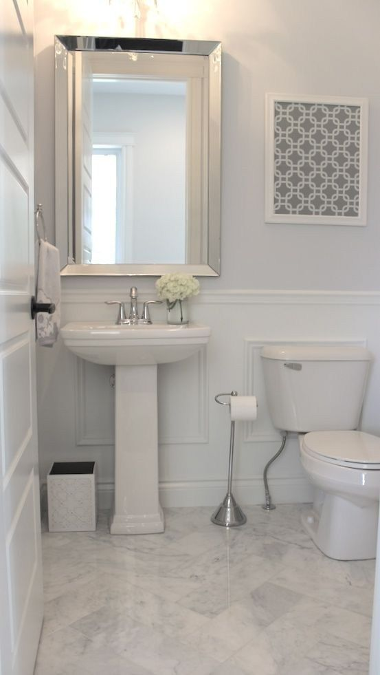 Adding A Half Bath Ideas Paint Color To A Home Is One Of The Most Common Requests I Get People W Small Bathroom Remodel Bathrooms Remodel Bathroom Floor Tiles