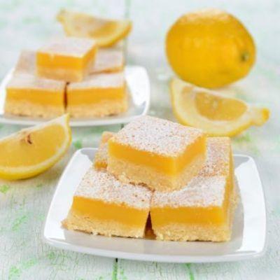 Aunt Susie's Lemon Shortbread Bars