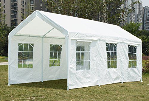 Quictent 20X10 Heavy Duty PE Water Resistant Party Wedding Tent carport Canopy For Sale  & Quictent 20X10 Heavy Duty PE Water Resistant Party Wedding Tent ...