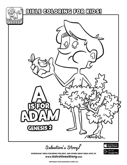Best 25 Bible ABCs For Kids Coloring Pages Images On Pinterest