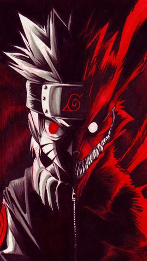 Iphone Red Naruto Wallpaper