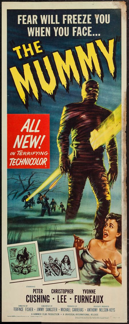The Mummy (1959) starring Peter Cushing, Christopher Lee & Yvonne Furneaux