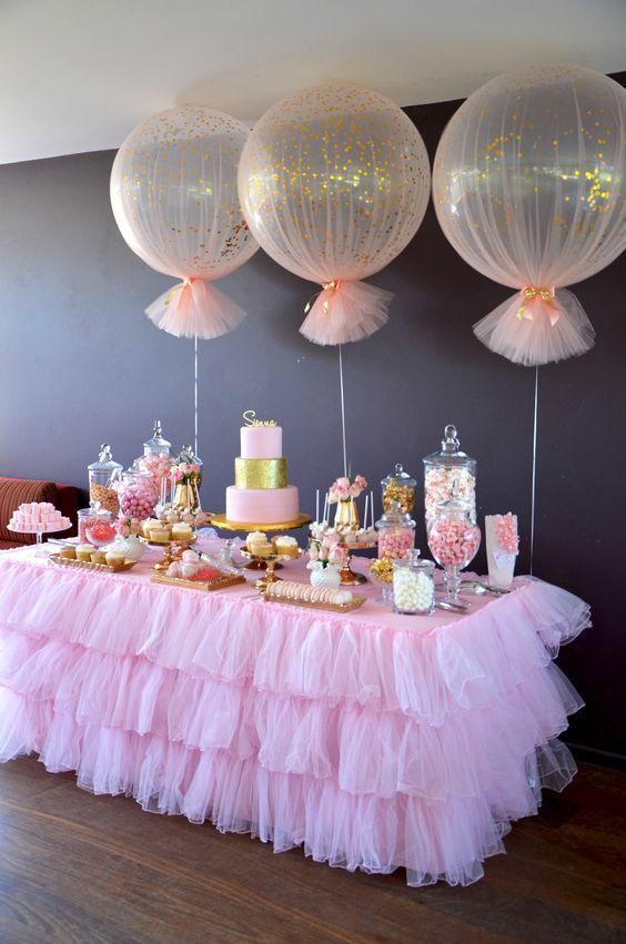Pin De Yss Calderon En Edzia Party En 2020 Decoracion Baby Shower Nina Mesa De Postres Cumpleanos Decoracion Fiesta De Nina