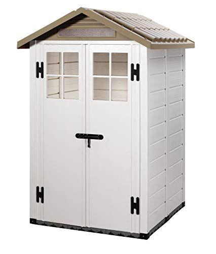 moins cher 1f845 b125f Garofalo - Abri de jardin PVC beige sol box abri de jardin ...