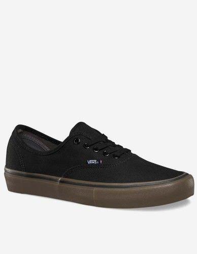 Vans - Authentic Pro Canvas Schuh black gum