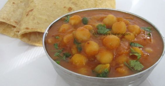 step by step instructions and pictures for preparing Chana Gravy.
