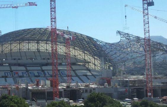 Les entrailles du nouveau Velodrome #marseille