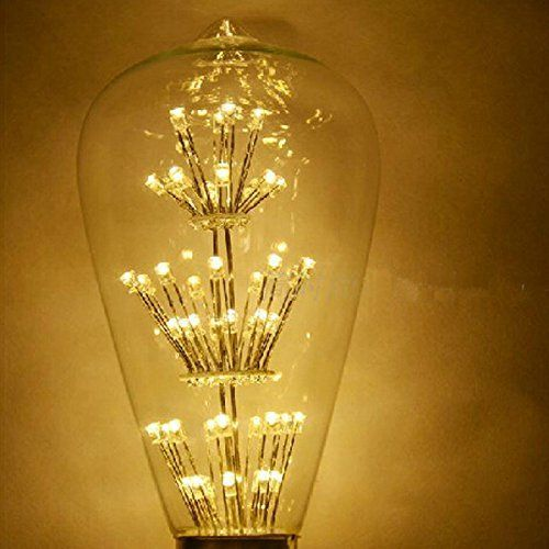 WAYCOM 3W Vintage Edison LED Light Bulb Squirrel Cage Es E27 110v Edison  Teardrop Vintage Lamp WAYCOM http://www.amazon.co.uk/dp/B00N8PHXUE/ref-cm_u2026