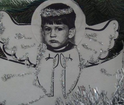 my mad angel. best thing i ever pulled out of a backpack and the only thing made of glitter i didn't throw away.
