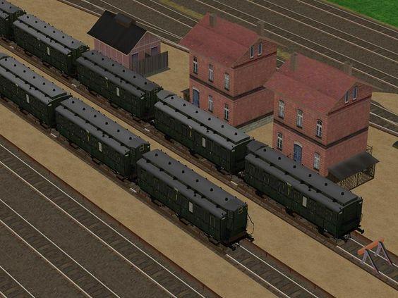 LBE 3. Klasse Wagen nach Zeichnung Nr. 37