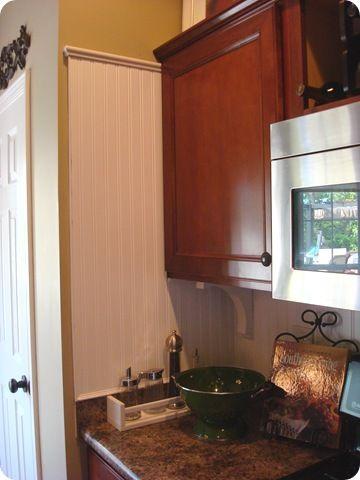 A Beadboard Backsplash Beadboard Backsplash Dining Room