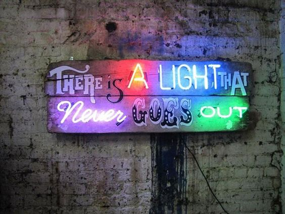 thereisalight