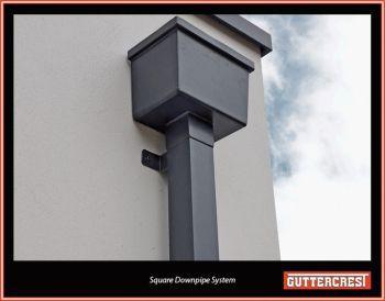 Aluminium Rectangular Downpipes Aluminium Guttering Systems Aluminium Downpipes Aluminium Guttering Downspout Water Pipes Gutters