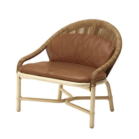 McGuire Bassamfellows Crescent Lounge Chair