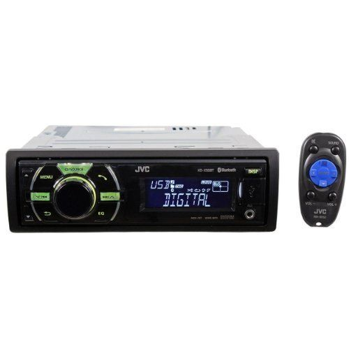 JVC KD-X50BT In-Dash Car Stereo Digital Media Receiver with Built-In Bluetooth and Front USB by JVC. $81.10. Brand New JVC KD-X50BT In-Dash Car Stereo Digital Media Receiver with Built-In Bluetooth / Front USB      JVC KD-X50BT In-Dash Car CD Stereo Receiver     Peak Power: 50 Watts x 4 Channels     RMS Power: 20 Watts x 4 Channels     Auto Drive Router App control (JVC Original Application)     PANDORA Internet Radio Control (For Android and Blackberry with Bluetooth S...