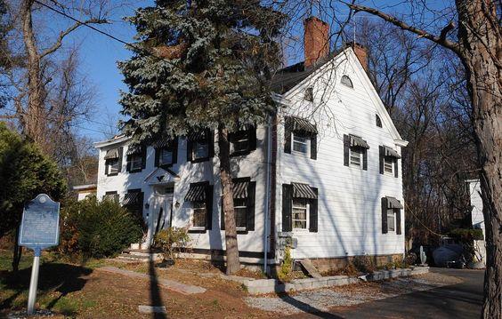 Demarest-Bloomer House in Bergen County, New Jersey.