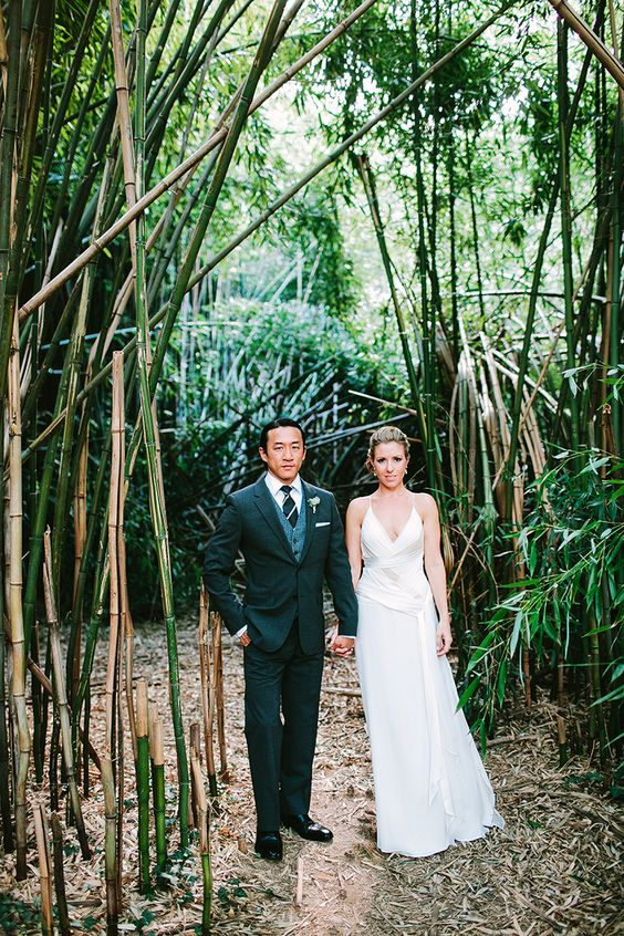 """our own little bamboo grove <3 