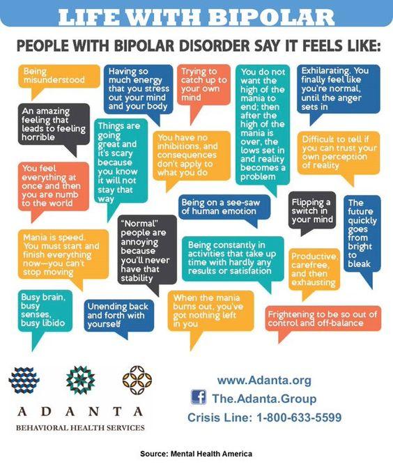 Adult bipolar symptom
