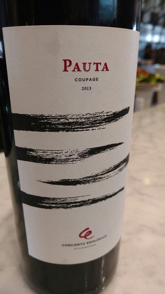 Pauta 2013 de Concierto Enológico.  Uno de los buenos vinos de México.