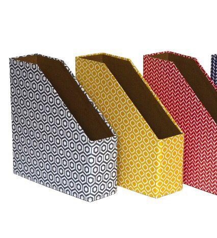 Geometric Magazine Holders | Amazon | £8.50