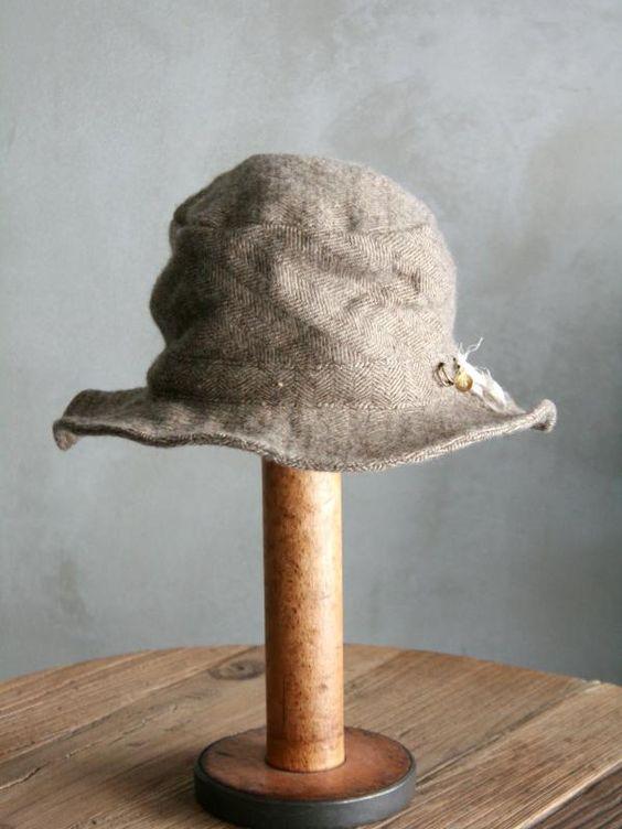 Vlas Blomme 2013 Tweed work hat