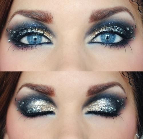Very Simple Wedding Makeup : Eyes, New years eve and Make up styles on Pinterest