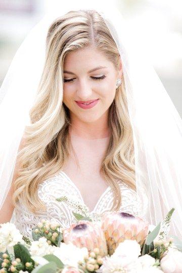 Glamorous Emerald Sapphire and Peach Countryside Wedding – Melanie Julian 26