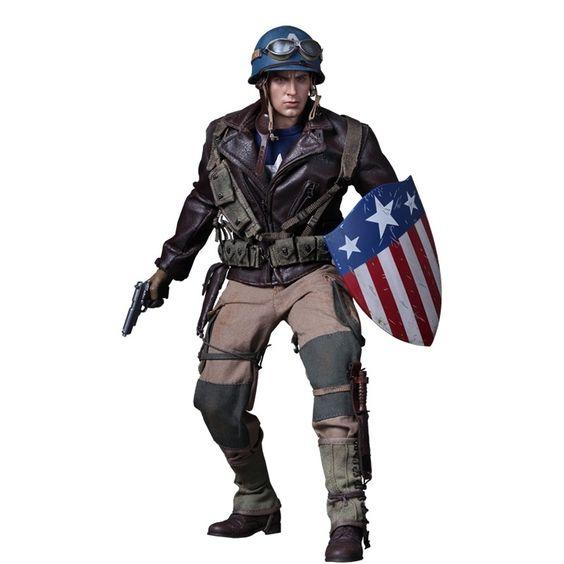 Captain America Exclusive Rescue Uniform Version - Hot Toys