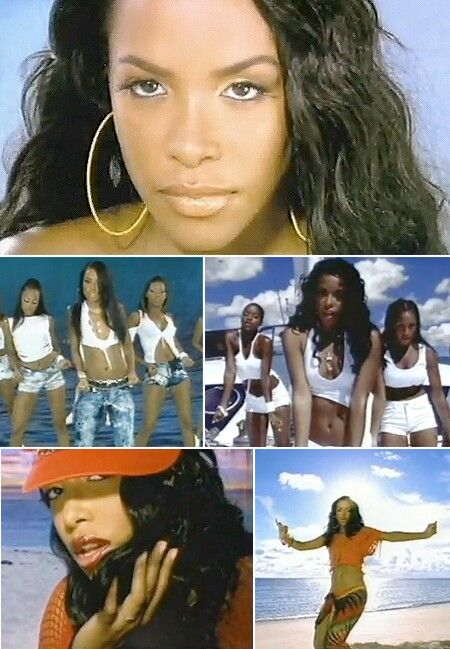 Aaliyah's Rock The Boat Video Pics. (Her Final Video, Before Her Tragic Passing)