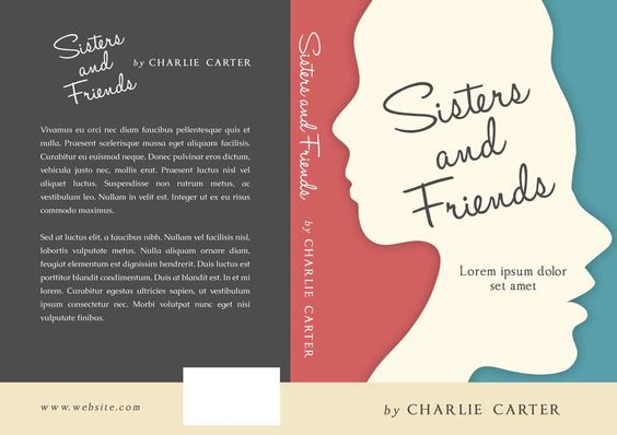 Sisters and Friends - Fiction Book Cover