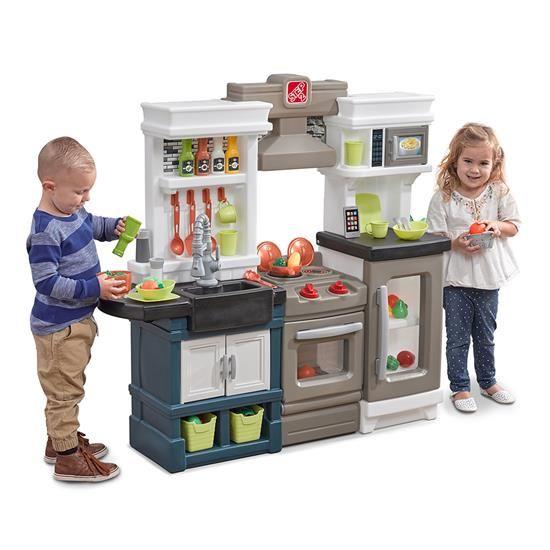 Step2 Modern Metro Kitchen Metro Kitchen Kids Play Kitchen