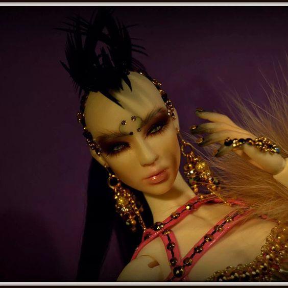 """Oracle"" #freefantasydolls new collection #nickisfabbrocile #bjd #fashion #dolls"