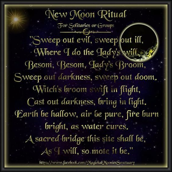 New Moon Ritual – Witches Of The Craft®
