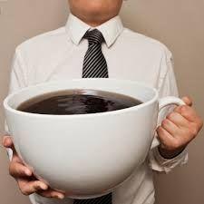 Para que vean que mi taza de Café con Leche no es tan grande!!!!