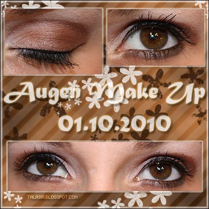 Eye Make Up - Datum: 01.10.10  http://talasia.blogspot.de/2010/10/amu-laguna-cacao-rose.html