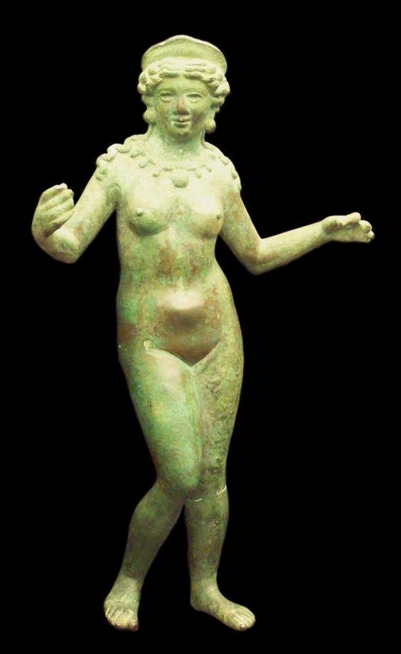 Venus romana de bronce del siglo I d. C. (M.A.N., Madrid)