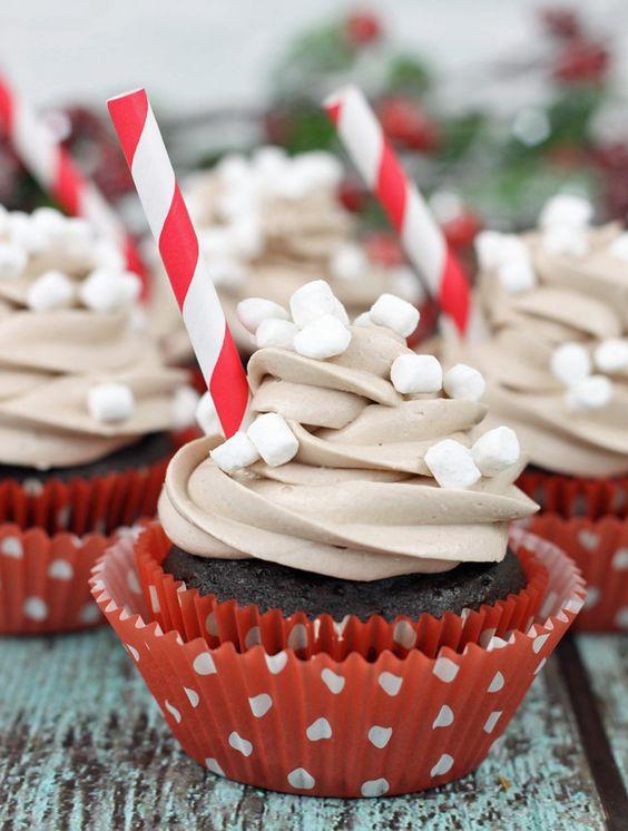 Hot Cocoa Cupcakes Recipe