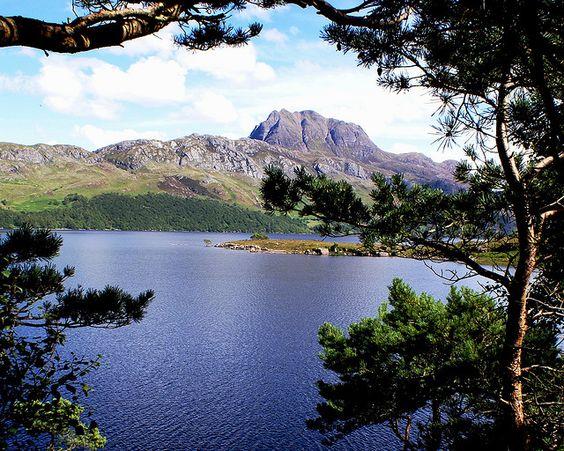 View of Loch Maree - Roy Saplin