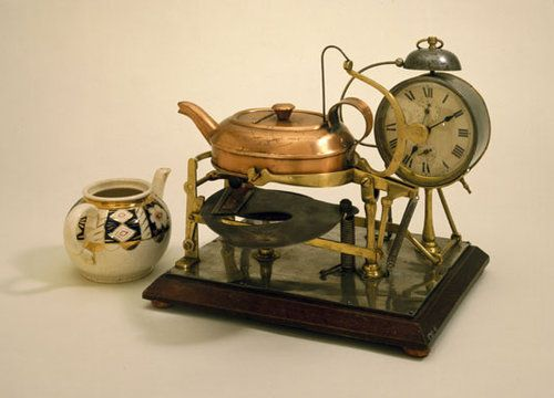 Automatic tea making machine, circa 1902