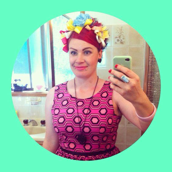 DIY flower crown.  Www.zennadonna.com
