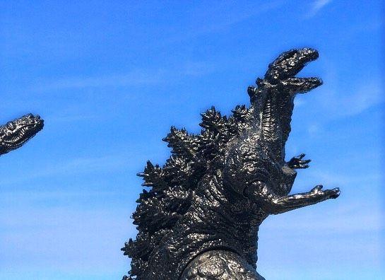 Hacked At 3 3k On Instagram Standing Tall At Different Times Of The Day Happy Godzillafigureappreciationsunday Today I Showcase The Bandai Shin Godzil