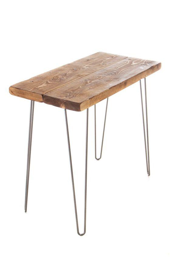Metallst/änder HBCY Creations Rustikal Torched Holz Tabletop Tafel//Vintage Wedding Table Zeichen//Kleine K/ücheCountertop Memo Board//Antik Holzrahmen 9,5 x 14 Zoll