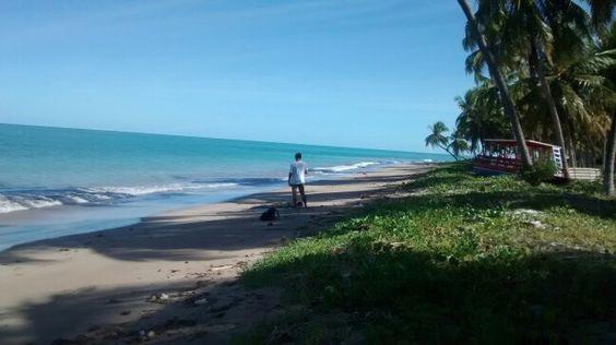Praia do Patacho- Águas mais quentes do Brasil.- Alagoas.